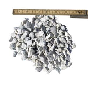 Hvid granitskærve