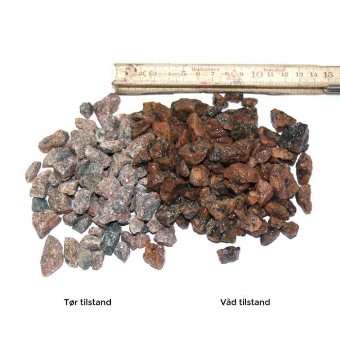 rødmix granitskærver