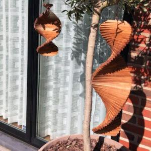 Vindspiral til haven