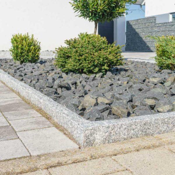 sorte dsb granitskærver til haven