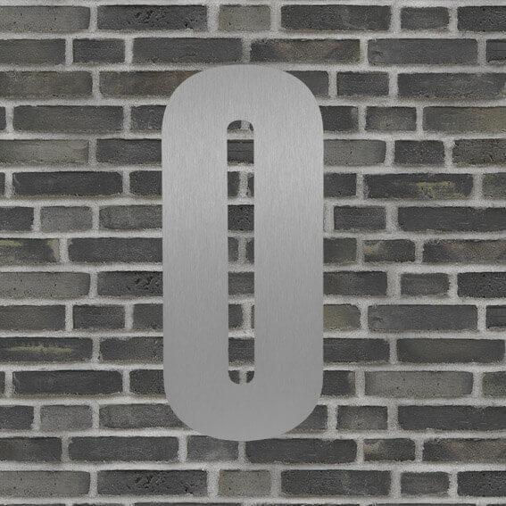 husnummer sølv #0