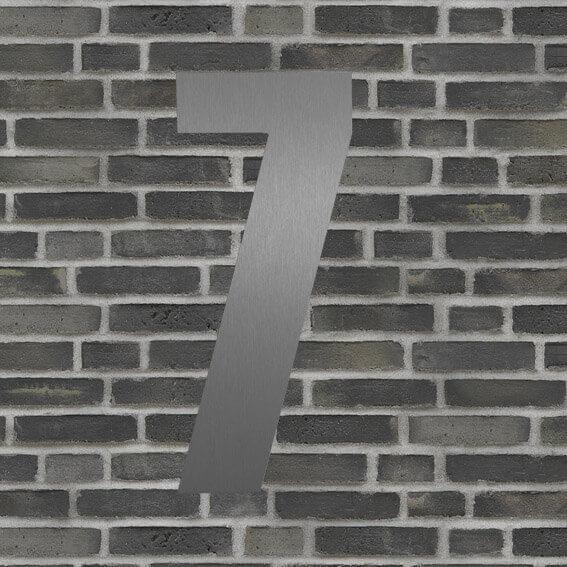 husnummer sølv #7