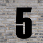Sort husnummer #5