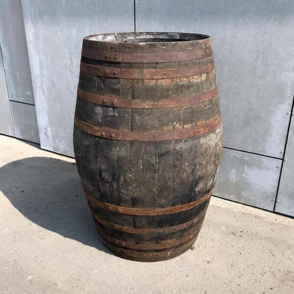 Brugt sherry/whiskytønde 500 liter