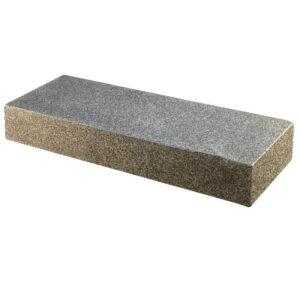 Granit trappetrin sort