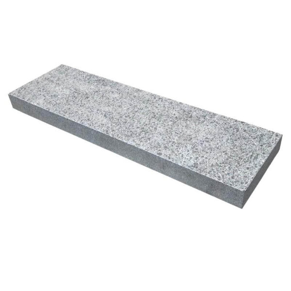 Sort bordursten i granit