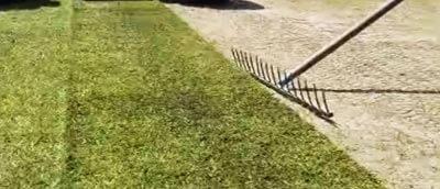 Læg rullegræset tæt