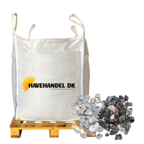grå granitskærver 11-16 mm i bigbag
