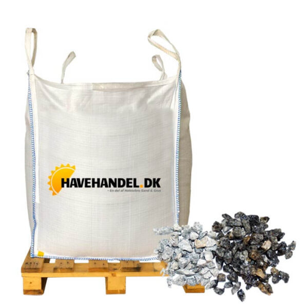 grå granitskærver 8-11 mm i bigbag