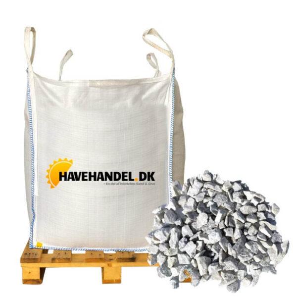hvide granitskærver 11-16 mm i bigbag