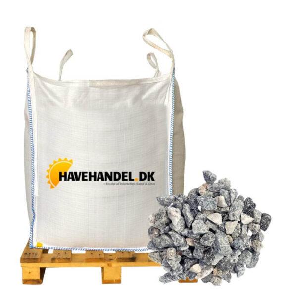 lysgrå granitskærver 11-16 mm i bigbag