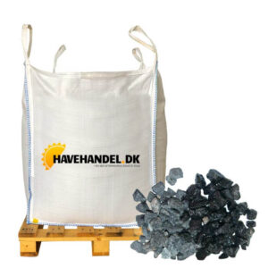sorte granitskærver 11-16 mm i bigbag