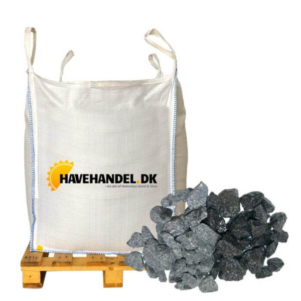 Sorte granitskærver 16-22 mm i bigbag