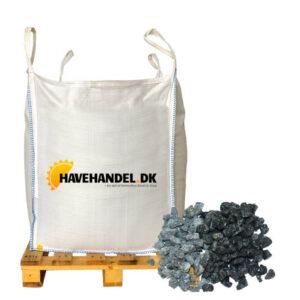 sorte granitskærver 8-11 mm i bigbag
