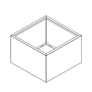 kvadratisk højbed tegning