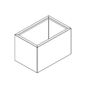 rektangulær højbed