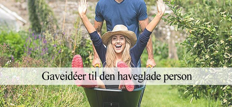 Gaveideer til den haveglade person