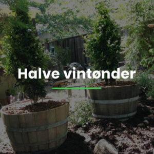 Halve vintønder