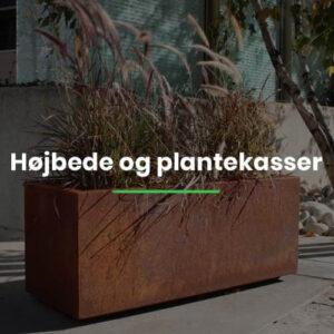 Højbede og plantekasser