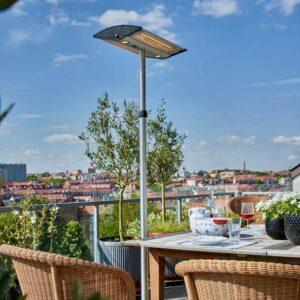 Flot terrassevarmer til cafeer eller terrassen
