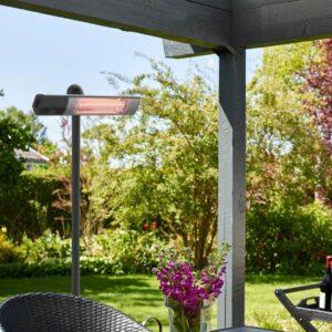 Sort terrassevarmer Gt 1500 watt