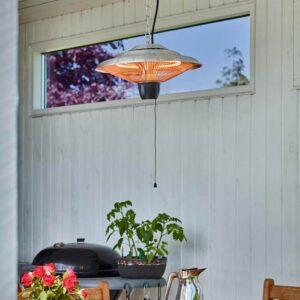 Terrassevarmer hængemodel 1500W i udestue