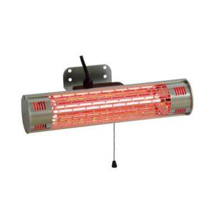 Terrassevarmer vægmodel 1000W mini