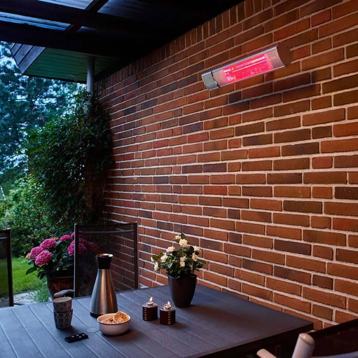 Storslåede Billig Terrassevarmer vægmodel med fjernbetjening | Køb her! ZY56