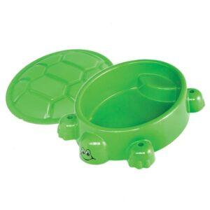 Skildpadde sandkasse i plastik