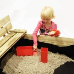 Underlag til sandkasse