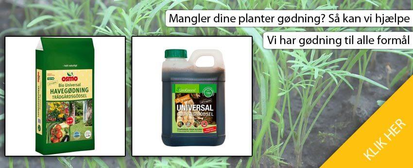 Gødning fra havehandel.dk