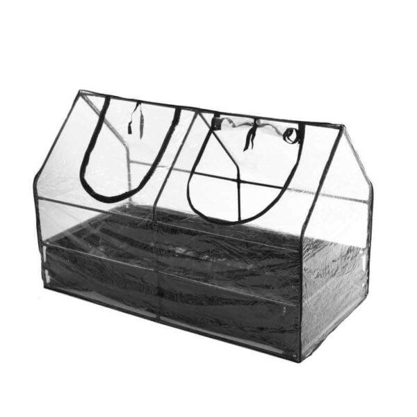 Minidrivhus med bund 128 cm