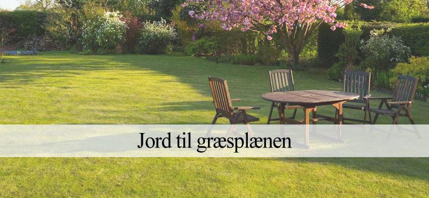 Jord til græsplæne