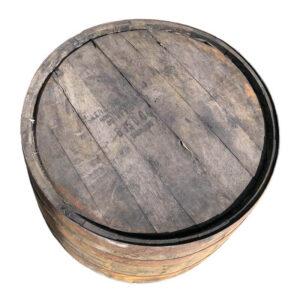 whiskytønde set fra oven