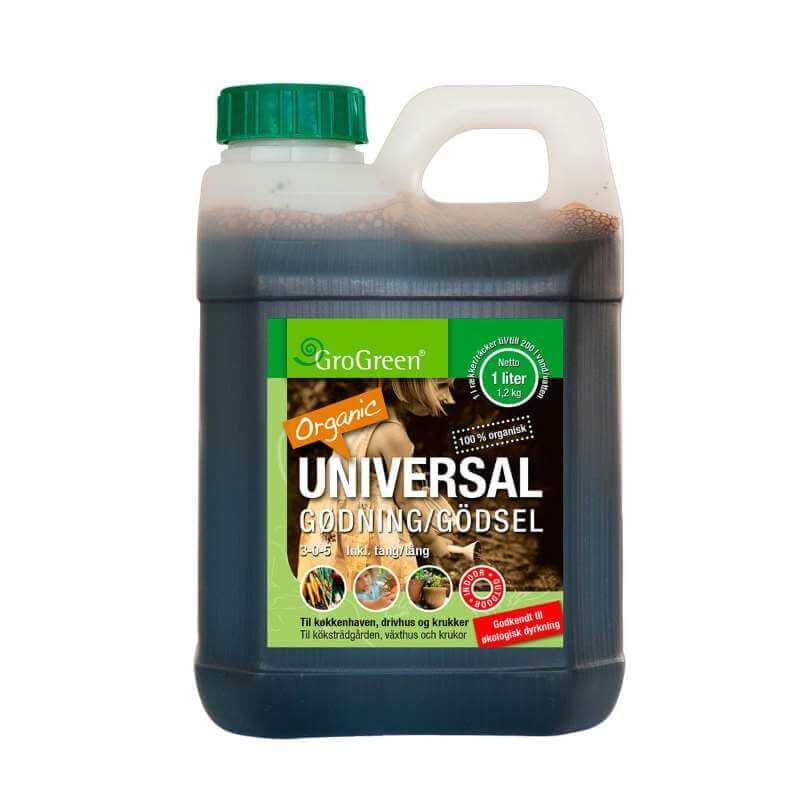 Image of   GroGreen økologisk Universalgødning 1 liter