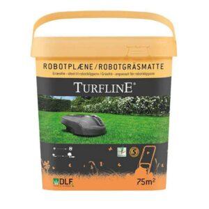 Græsfrø til græsplæne med robotplæneklipper