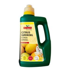 Flydende gødning til citrusplanter fra Osmo