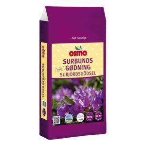 Gødning til surbund fra Osmo