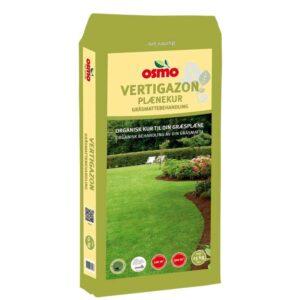 Organisk plænekur vertigazon fra Osmo