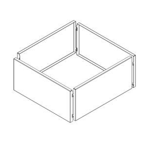 højbed kvadrat