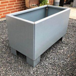 galvaniseret stål højbed 80x40 med ben