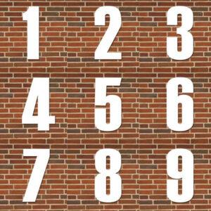 oversigt over hvide husnumre