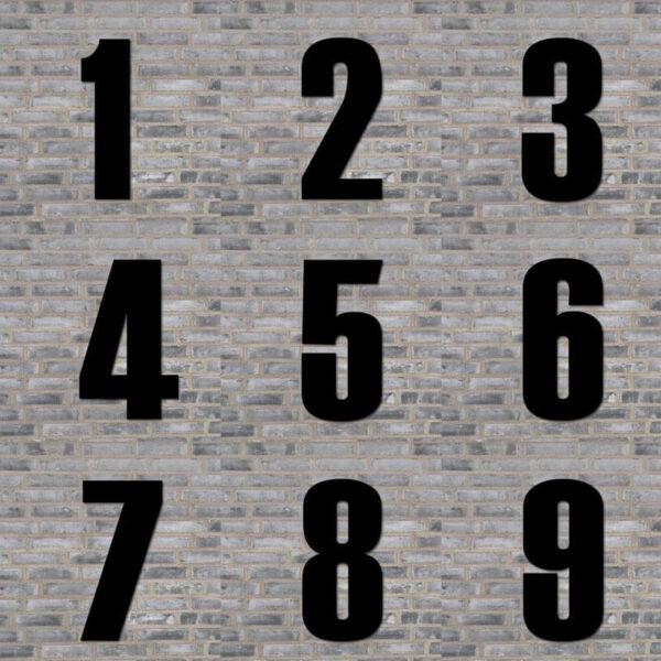 oversigt over husnumre