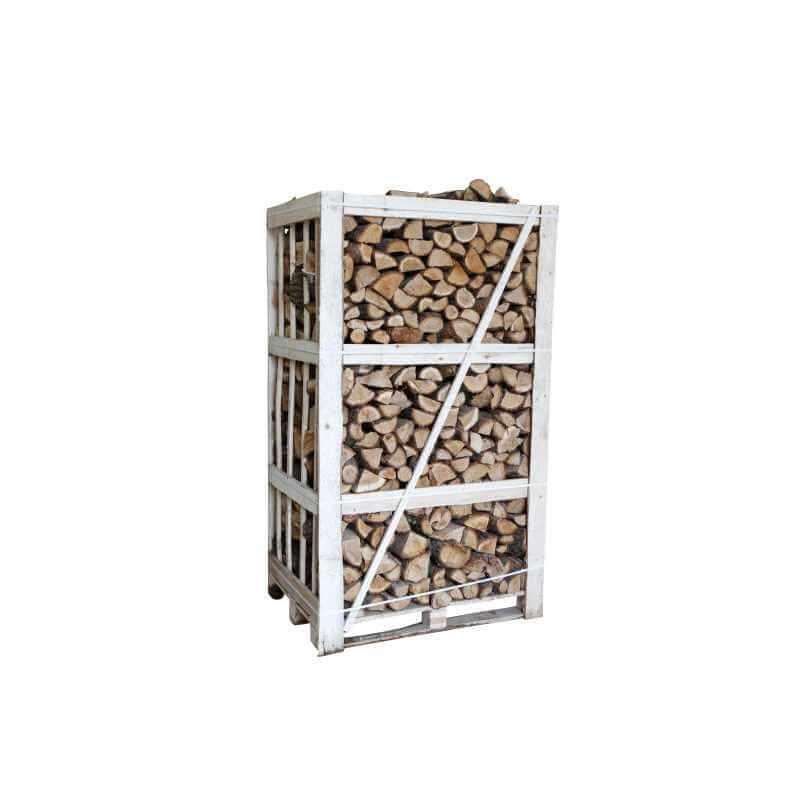 Image of   Lufttørret brænde, eg