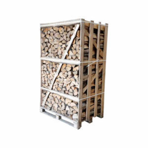 Ovntørret løvtræ brændetårn