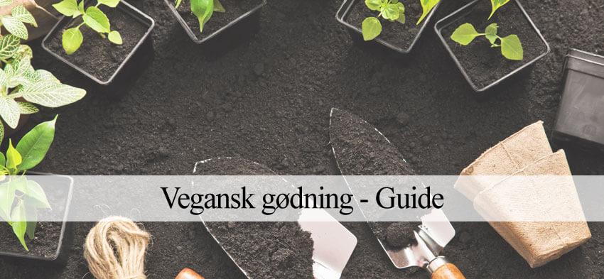 vegansk gødning