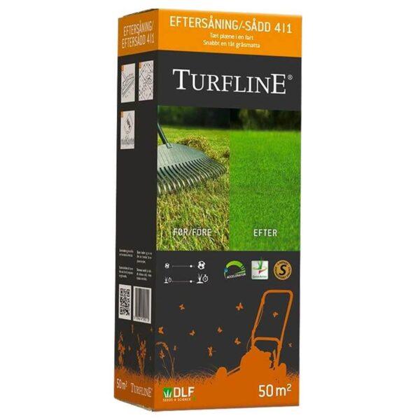 turfline 4-i-1 græsfrø eftersåning