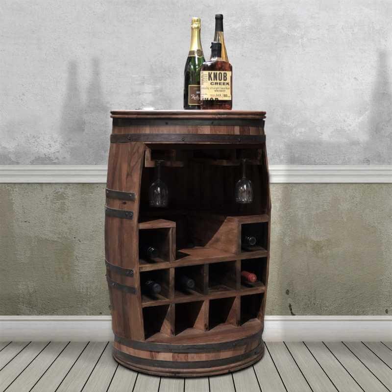 Billede af Rosey-Say vintønde - kombineret bar og vinreol
