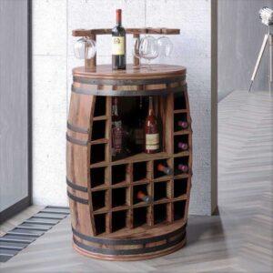 Rosey-x vinreol og hjemmebar