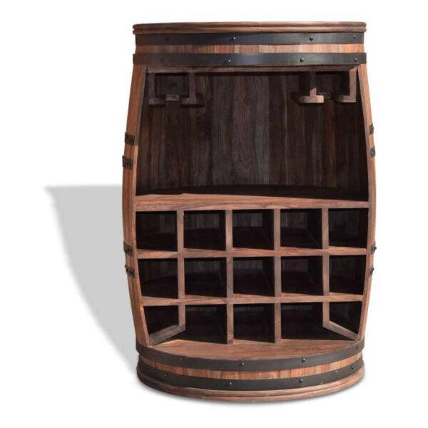 vinreol rosey plads til vinglas